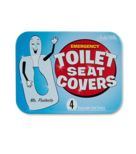 Accoutrements(アクータメンツ)のEmergency toilet seat covers-BLUE(アザーズ/others)-12044-92 詳細画像1