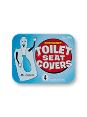 Accoutrements(アクータメンツ) Emergency toilet seat covers