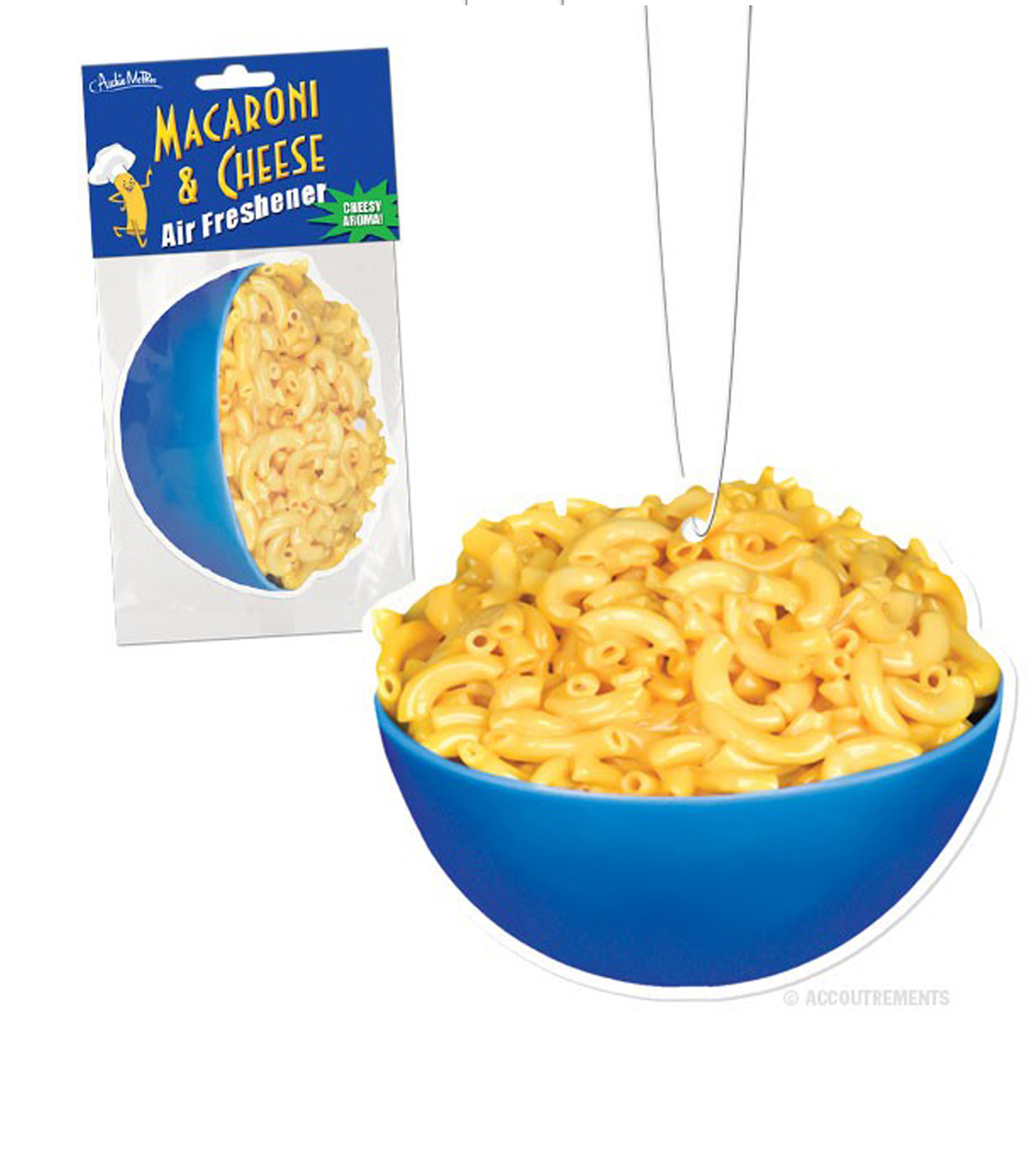 Accoutrements(アクータメンツ)のMacaroni & Cheese Air Freshener-BLUE(アザーズ/others)-12209-92 拡大詳細画像1