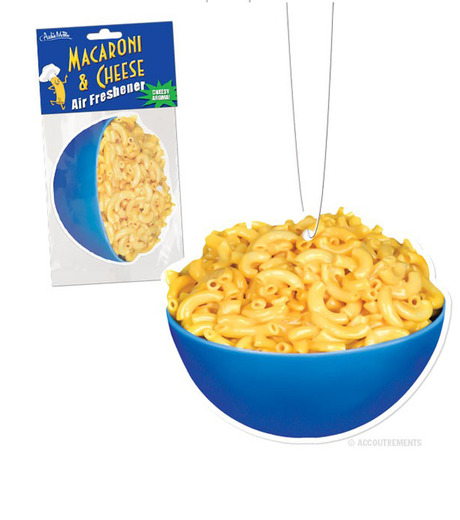 Accoutrements(アクータメンツ)のMacaroni & Cheese Air Freshener-BLUE(アザーズ/others)-12209-92 詳細画像1