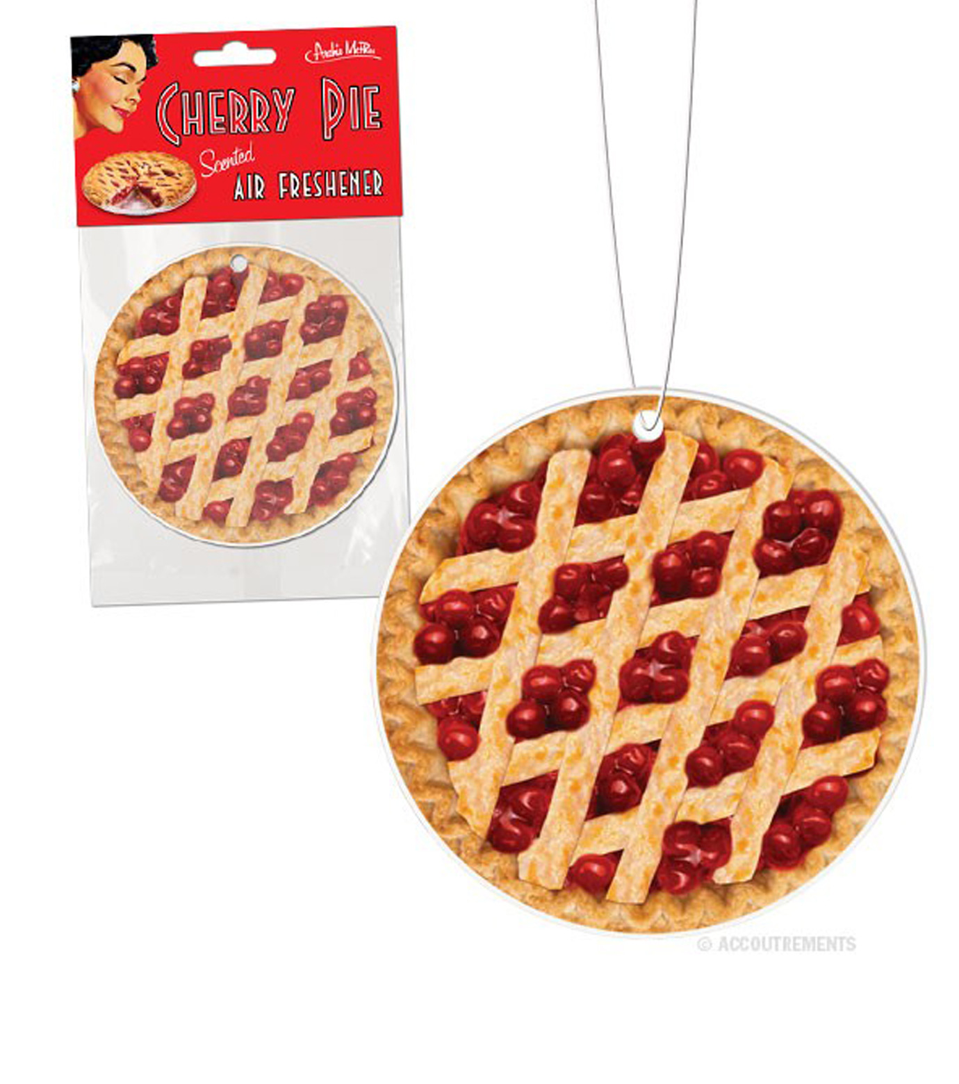 Accoutrements(アクータメンツ)のCherry Pie Air Freshener-BROWN(アザーズ/others)-12214-42 拡大詳細画像1