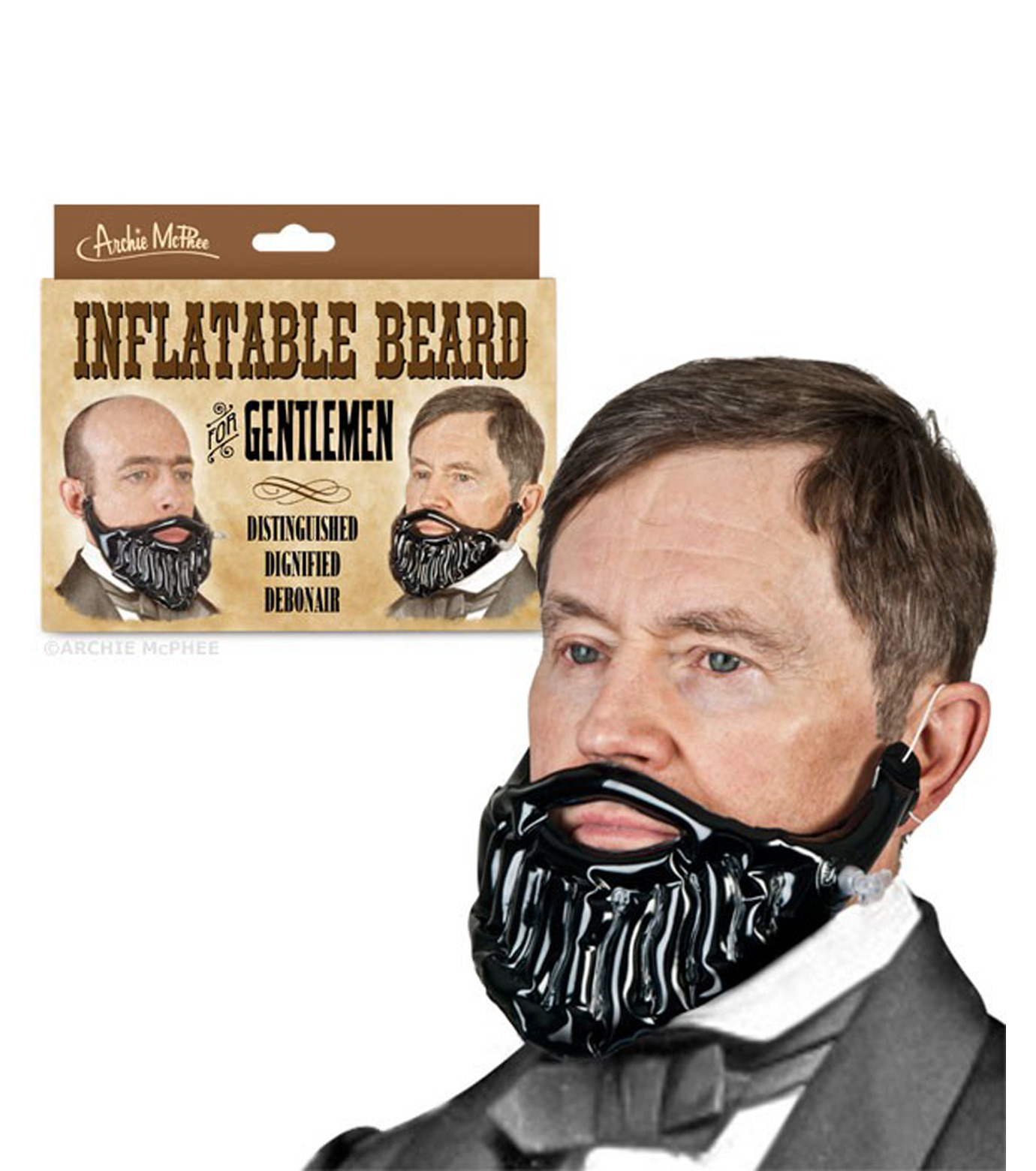 Accoutrements(アクータメンツ)のInflatable Beard-BLACK(アザーズ/others)-12224-13 拡大詳細画像1