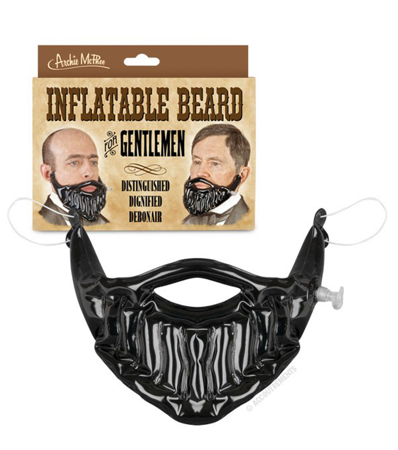 Accoutrements(アクータメンツ)のInflatable Beard-BLACK(アザーズ/others)-12224-13 拡大詳細画像2