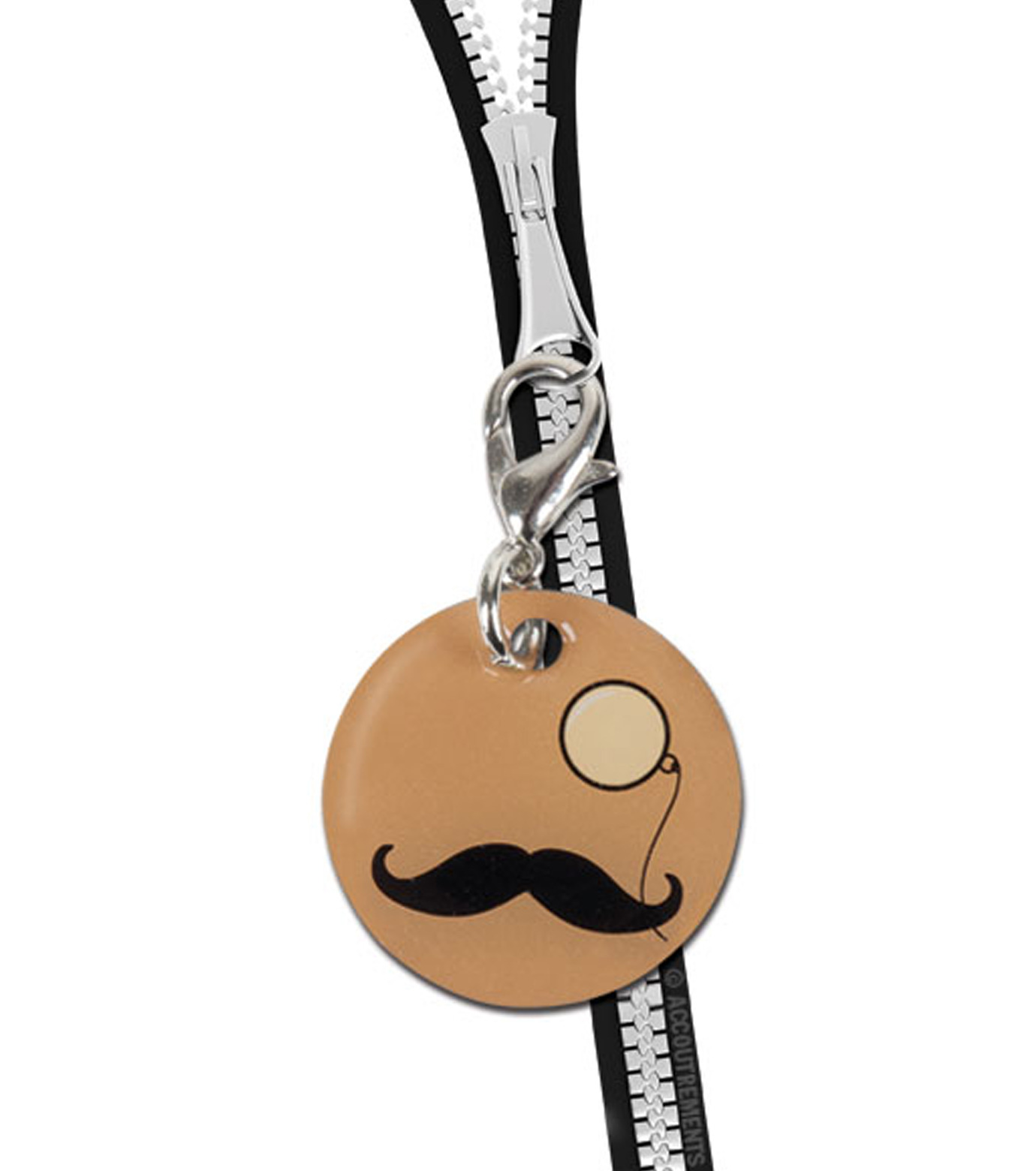 Accoutrements(アクータメンツ)のMustache & Monocle Charm-BEIGE(アザーズ/others)-12225-52 拡大詳細画像2