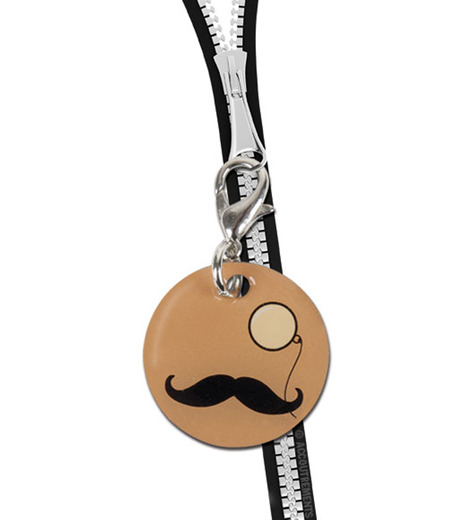 Accoutrements(アクータメンツ)のMustache & Monocle Charm-BEIGE(アザーズ/others)-12225-52 詳細画像2