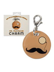 Accoutrements Mustache & Monocle Charm