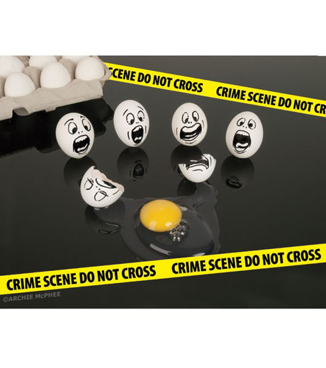 Accoutrements(アクータメンツ)のMini Crime Scene Tape-YELLOW(OTHER-GOODS/OTHER-GOODS)-12311-32 詳細画像2