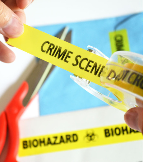 Accoutrements(アクータメンツ)のMini Crime Scene Tape-YELLOW(OTHER-GOODS/OTHER-GOODS)-12311-32 詳細画像3
