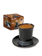 Accoutrements Top hat espresso