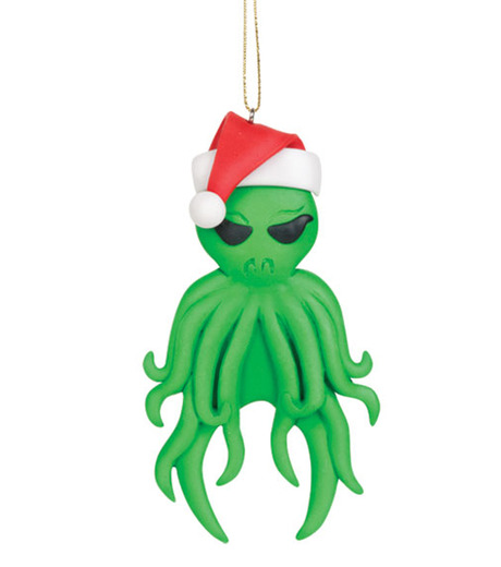 Accoutrements(アクータメンツ)のCthulhu ornament-GREEN-12338-22 詳細画像1