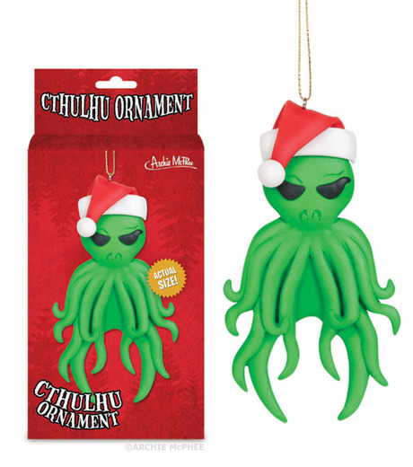 Accoutrements(アクータメンツ)のCthulhu ornament-GREEN-12338-22 詳細画像2