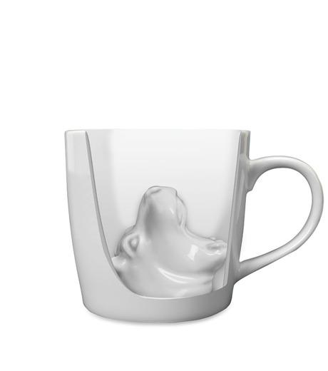 Accoutrements(アクータメンツ)のHippo Attack Porcelain Mug-WHITE-12339-4 詳細画像2