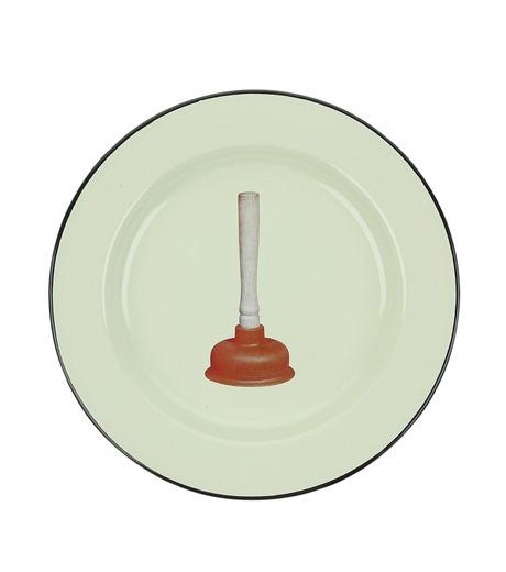 Seletti(セレッティ)のEnamel Plate -Plungers--NONE(キッチン/kitchen)-126178-0 詳細画像1