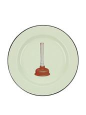 Seletti(セレッティ) Enamel Plate -Plungers-