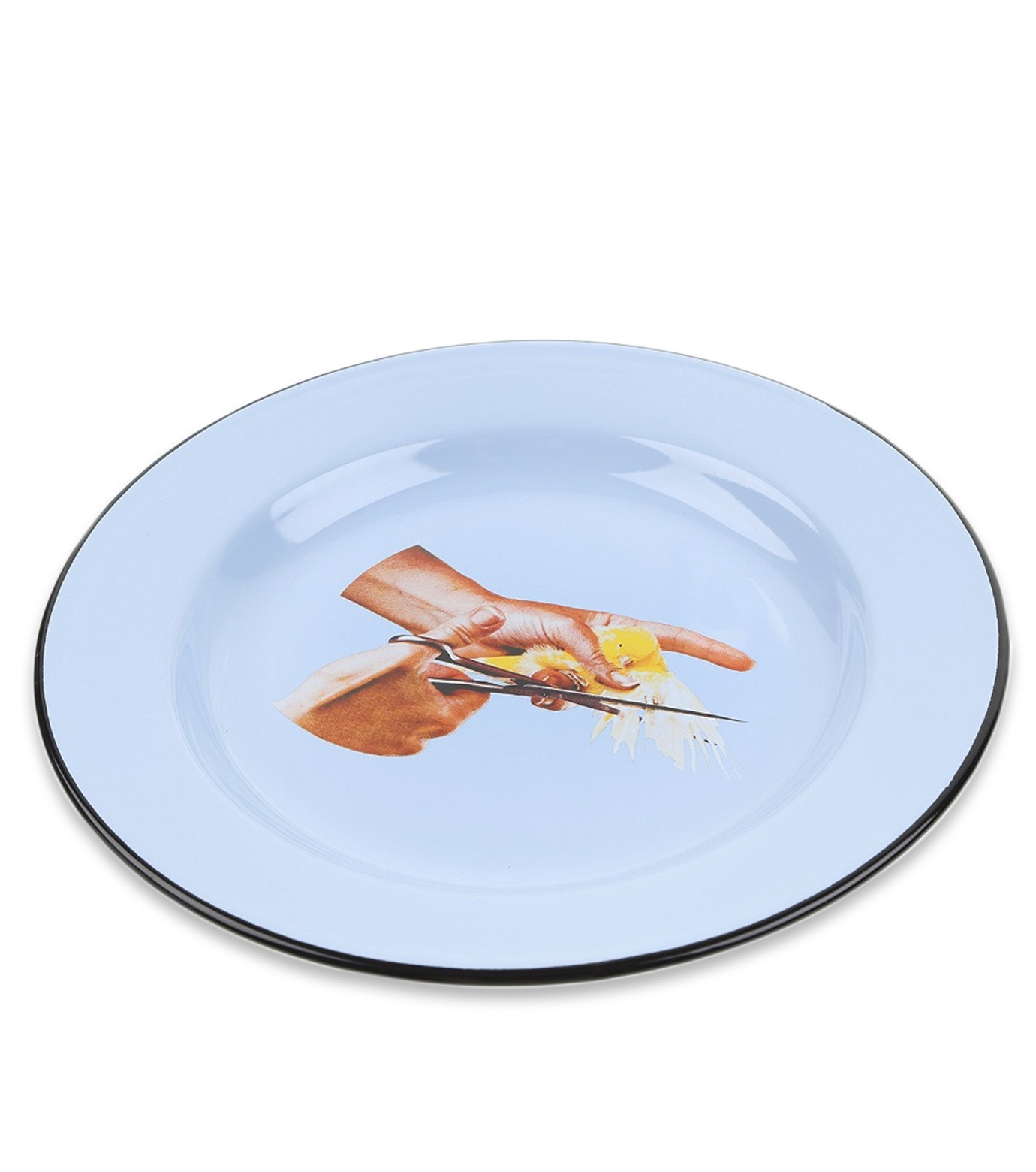 Seletti(セレッティ)のEnamel Plate -Bird--NONE(キッチン/kitchen)-126179-0 拡大詳細画像2