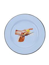 Seletti(セレッティ) Enamel Plate -Bird-