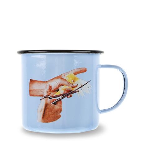 Seletti(セレッティ)のEnamel Mug -Bird--NONE(キッチン/kitchen)-126191-0 詳細画像1