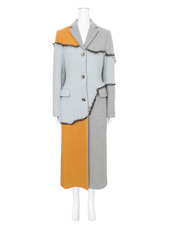 ACNE STUDIOS(アクネ ストゥディオズ) Patchwork Fitted Coat