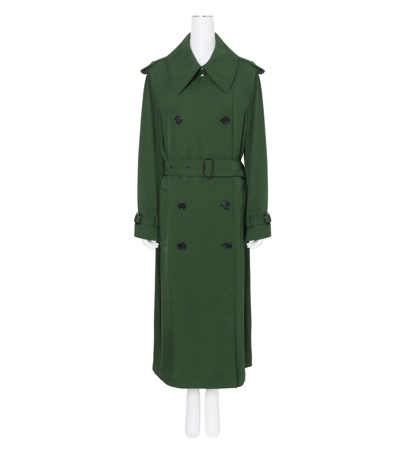 ACNE STUDIOS(アクネ ストゥディオズ)のTrench Coat-GREEN(コート/coat)-12N166-22 拡大詳細画像1