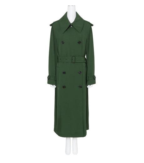 ACNE STUDIOS(アクネ ストゥディオズ)のTrench Coat-GREEN(コート/coat)-12N166-22 詳細画像1