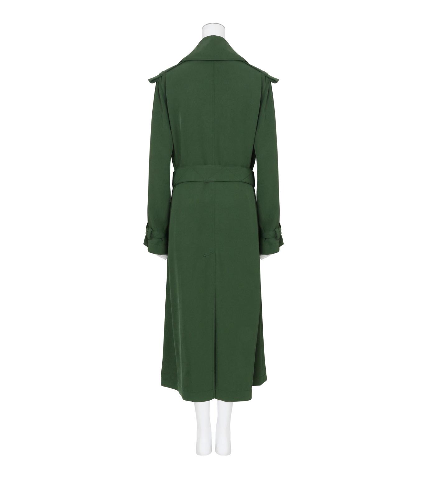 ACNE STUDIOS(アクネ ストゥディオズ)のTrench Coat-GREEN(コート/coat)-12N166-22 拡大詳細画像2