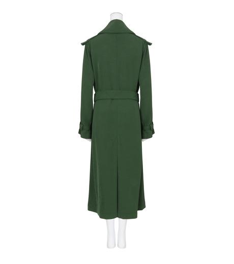 ACNE STUDIOS(アクネ ストゥディオズ)のTrench Coat-GREEN(コート/coat)-12N166-22 詳細画像2
