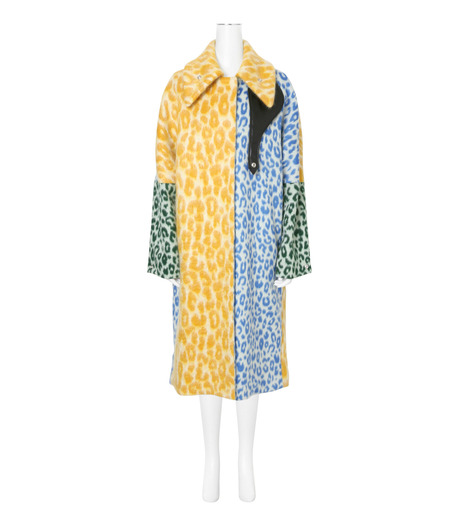 ACNE STUDIOS(アクネ ストゥディオズ)のLeopard Multicolor Coat-MULTI COLOUR(コート/coat)-12Z164-9 詳細画像1