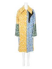 ACNE STUDIOS(アクネ ストゥディオズ) Leopard Multicolor Coat