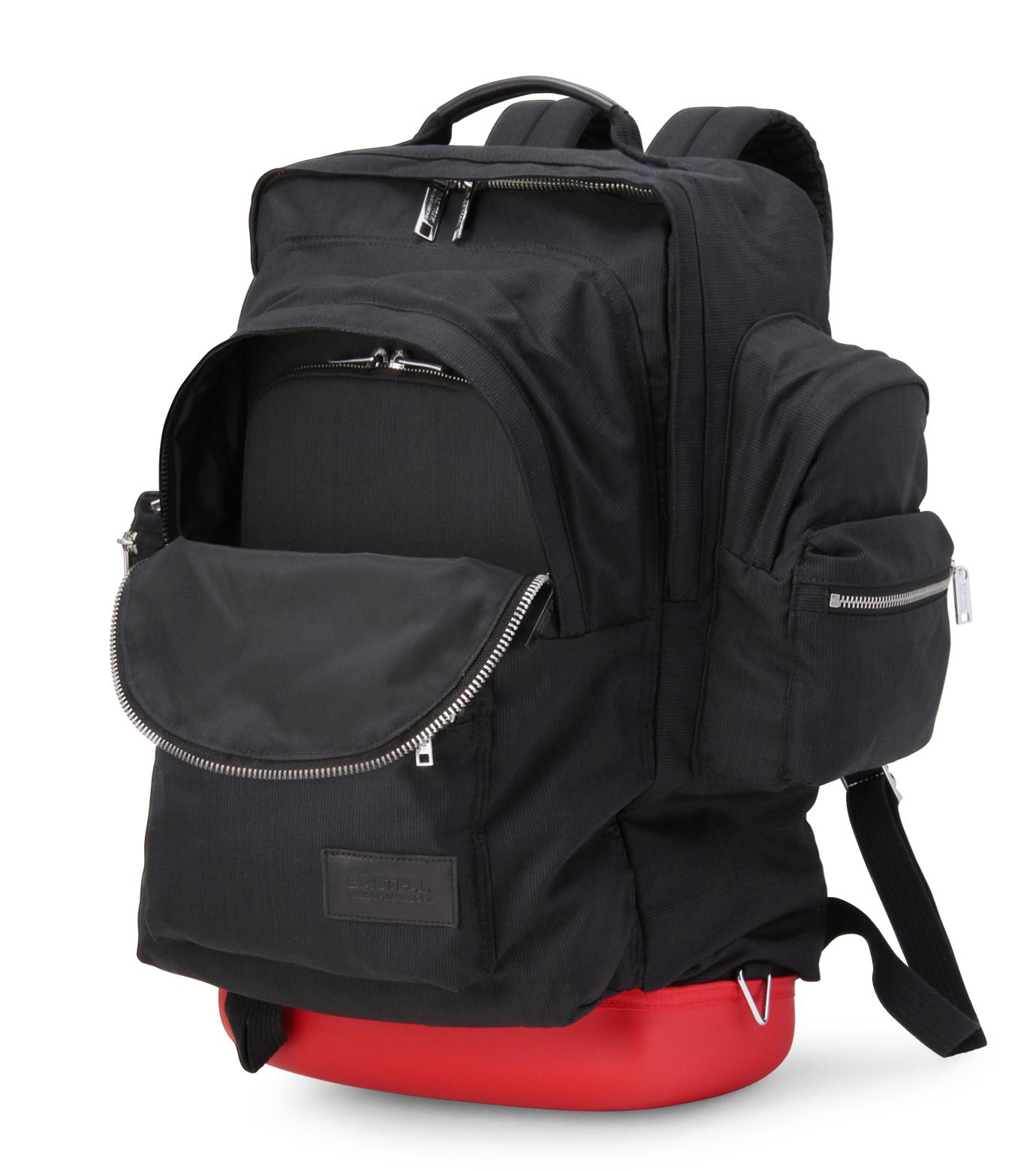 Kris Van Assche +(クリスヴァンアッシュ プラス)のBack pack-BLACK-131EK875-13 拡大詳細画像4