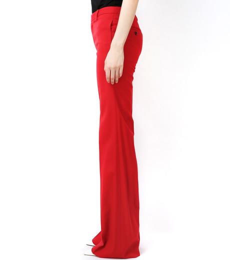 LE CIEL BLEU(ルシェルブルー)のウールカラーセミワイドPT-RED(パンツ/pants)-13A68049 詳細画像3