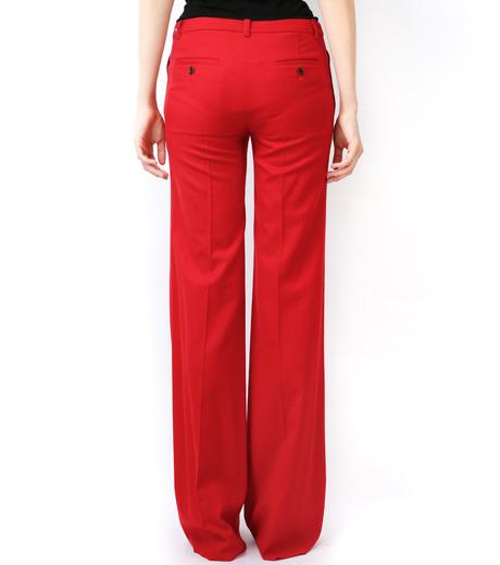 LE CIEL BLEU(ルシェルブルー)のウールカラーセミワイドPT-RED(パンツ/pants)-13A68049 詳細画像4