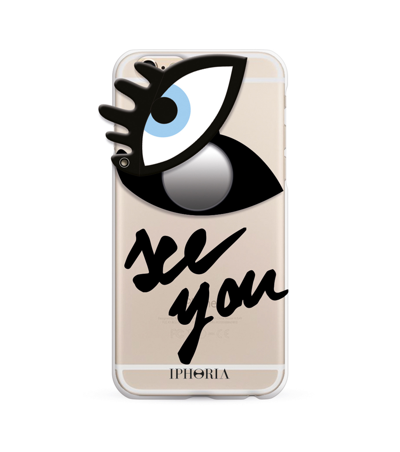 IPHORIA(アイフォリア)のSEE YOU for iPhone 7-NONE(ケースiphone7/7plus/case iphone7/7plus)-14014-0 拡大詳細画像1