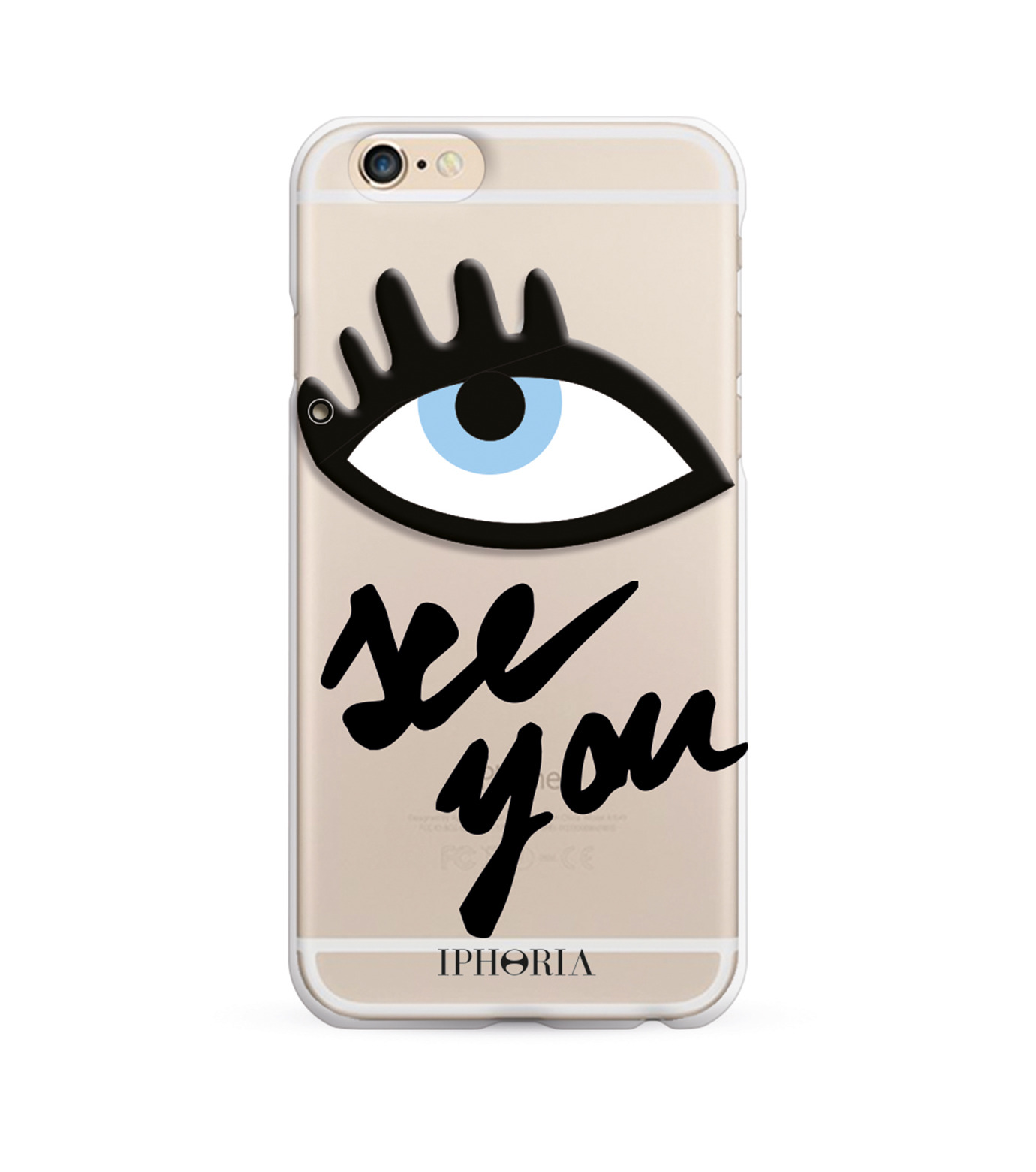 IPHORIA(アイフォリア)のSEE YOU for iPhone 7-NONE(ケースiphone7/7plus/case iphone7/7plus)-14014-0 拡大詳細画像2