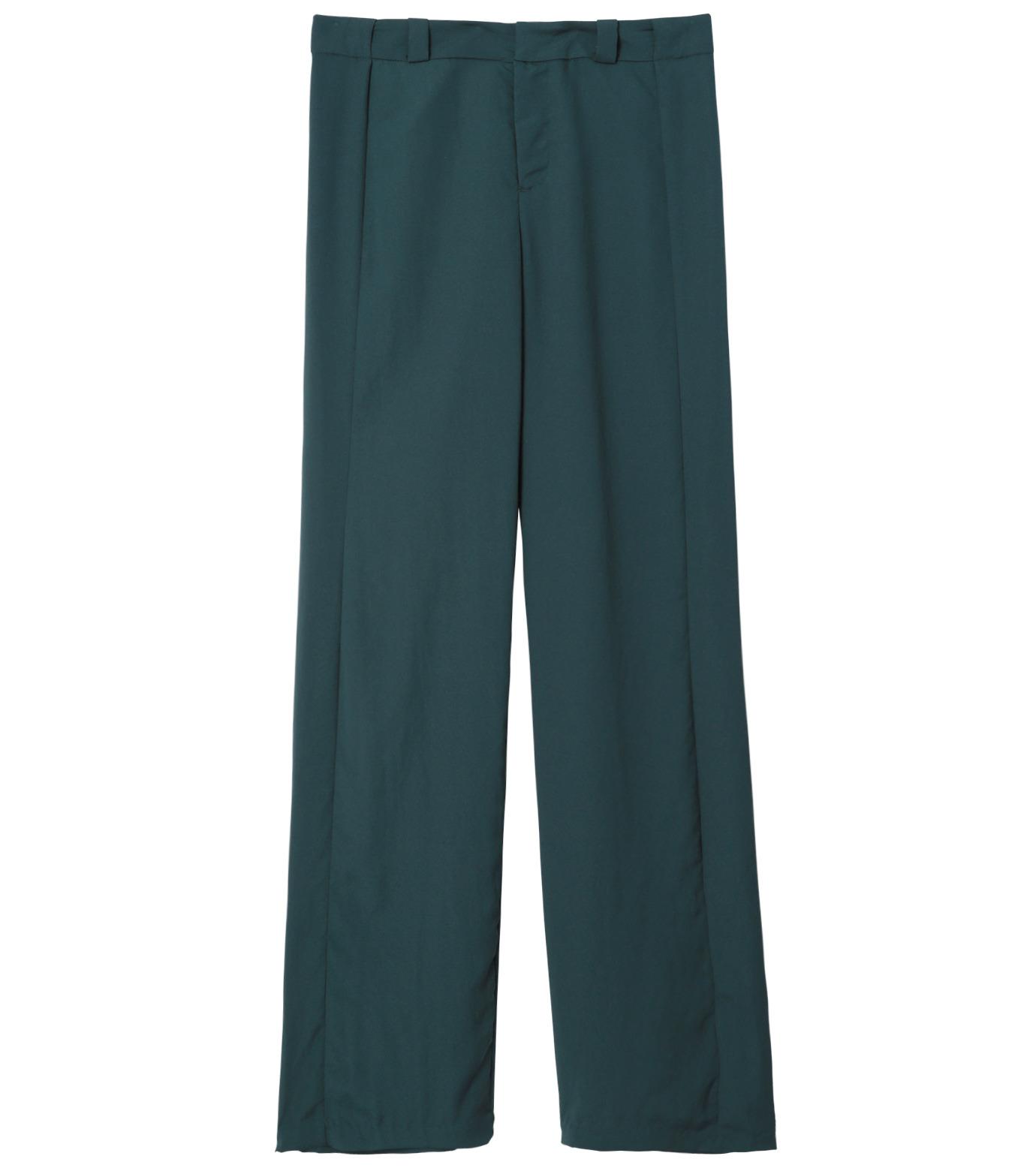 LE CIEL BLEU(ルシェルブルー)のWide Straight Pants-GREEN(パンツ/pants)-14A68006 拡大詳細画像1