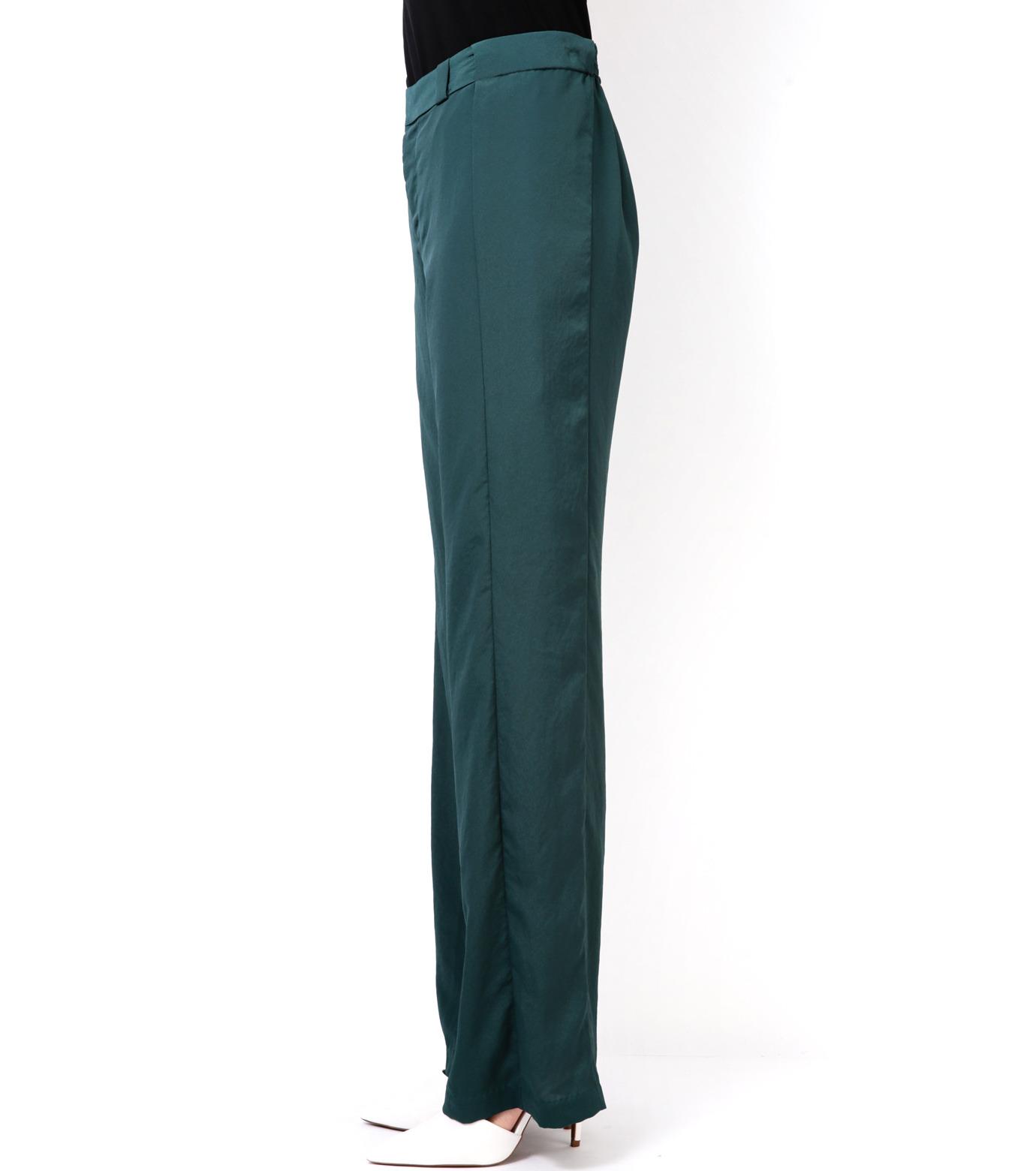 LE CIEL BLEU(ルシェルブルー)のWide Straight Pants-GREEN(パンツ/pants)-14A68006 拡大詳細画像3
