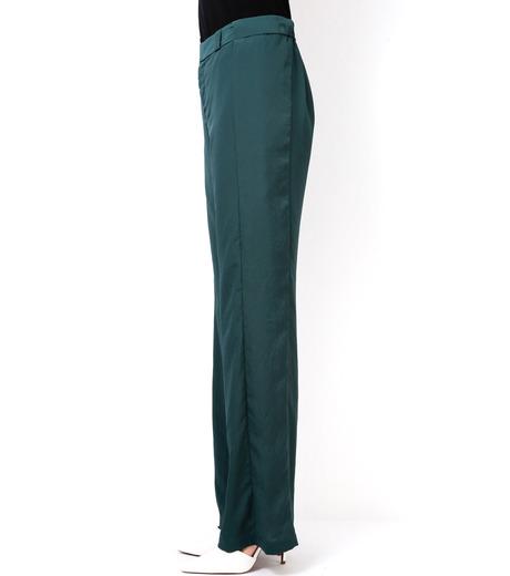 LE CIEL BLEU(ルシェルブルー)のWide Straight Pants-GREEN(パンツ/pants)-14A68006 詳細画像3