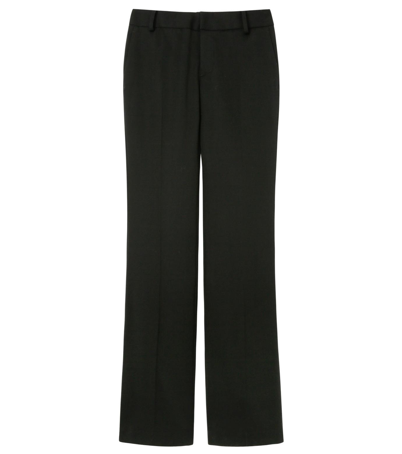 LE CIEL BLEU(ルシェルブルー)のDoeskin Bootscut Pants-BLACK(パンツ/pants)-14A68027 拡大詳細画像1