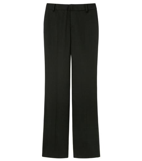 LE CIEL BLEU(ルシェルブルー)のDoeskin Bootscut Pants-BLACK(パンツ/pants)-14A68027 詳細画像1