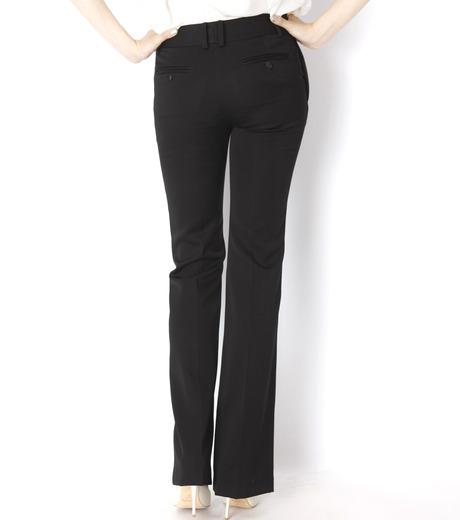 LE CIEL BLEU(ルシェルブルー)のDoeskin Bootscut Pants-BLACK(パンツ/pants)-14A68027 詳細画像4
