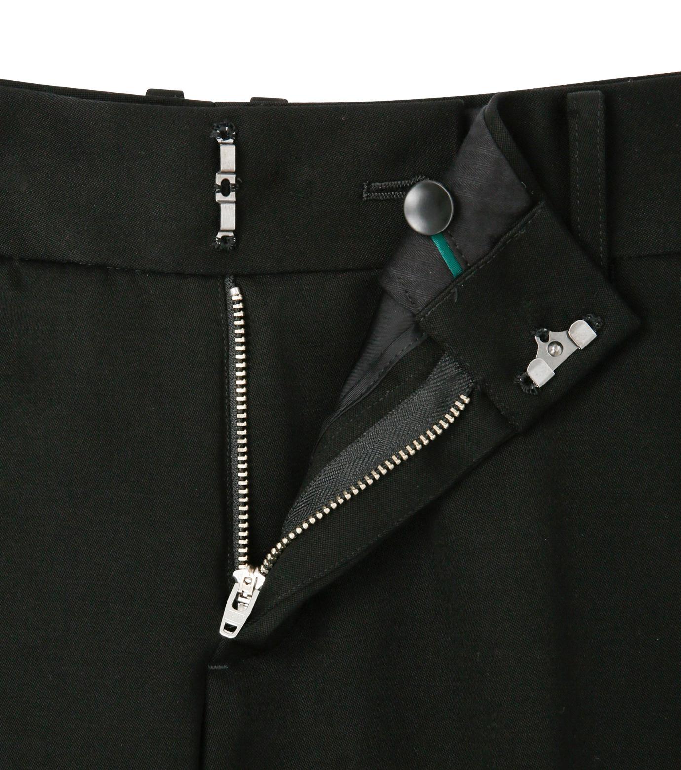 LE CIEL BLEU(ルシェルブルー)のDoeskin Bootscut Pants-BLACK(パンツ/pants)-14A68027 拡大詳細画像5
