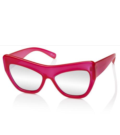 Adam Selman×Le Specs(アダム・セルマン×ル・スペックス)のPlaygirl -Opaque Red / Silver Mirror--RED(アイウェア/eyewear)-1502064-62 詳細画像2