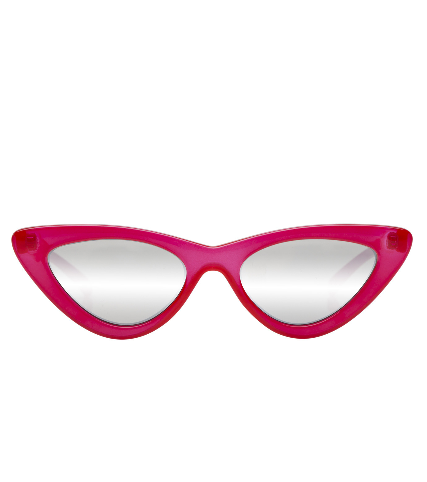 Adam Selman×Le Specs(アダム・セルマン×ル・スペックス)のThe Last Lotita -Opaque Red / Silver Mirror--RED(アイウェア/eyewear)-1502112-62 拡大詳細画像2