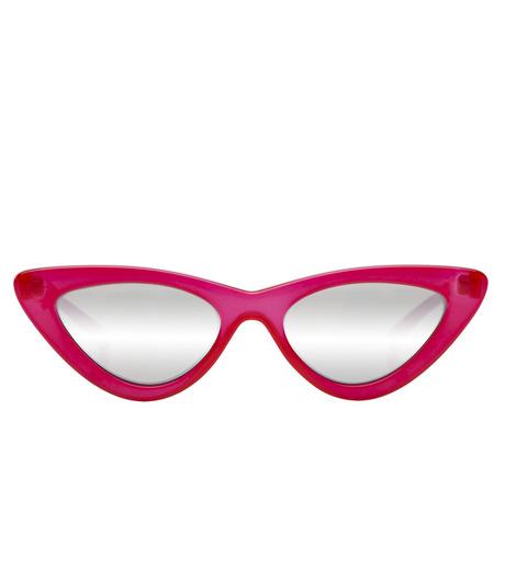 Adam Selman×Le Specs(アダム・セルマン×ル・スペックス)のThe Last Lotita -Opaque Red / Silver Mirror--RED(アイウェア/eyewear)-1502112-62 詳細画像2