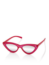 Adam Selman×Le Specs The Last Lotita -Opaque Red / Silver Mirror-