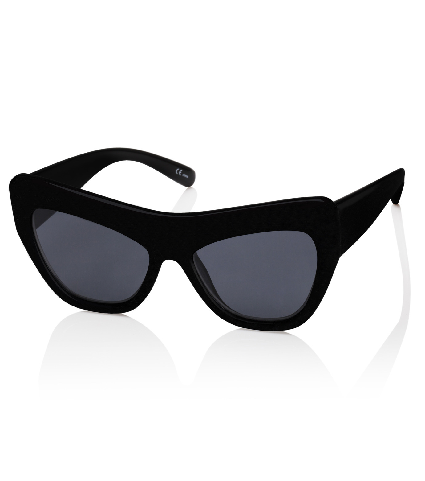 Adam Selman×Le Specs(アダム・セルマン×ル・スペックス)のPlaygirl -Black Rubber / Smoke Mono--BLACK(アイウェア/eyewear)-1502113-13 拡大詳細画像1