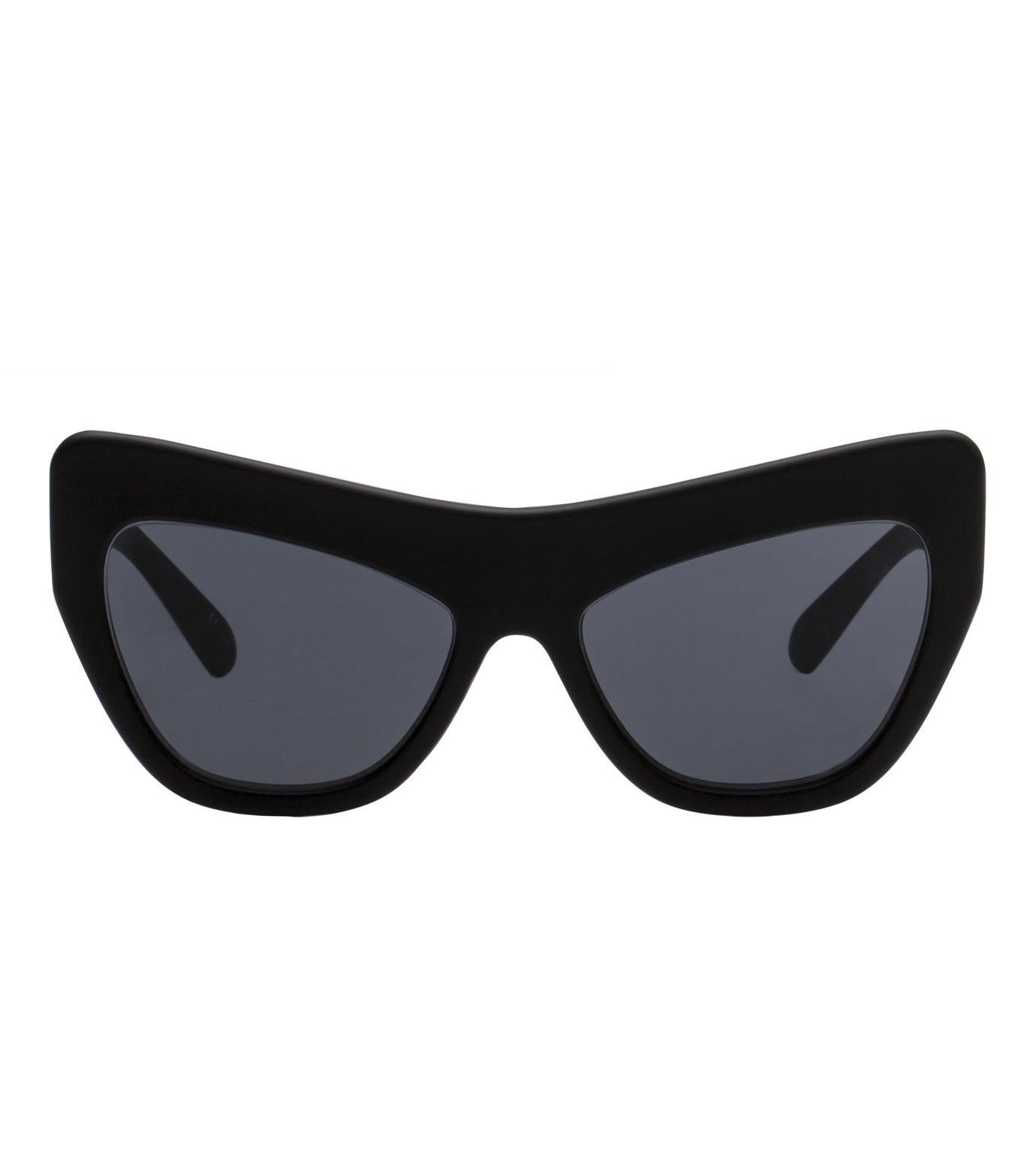 Adam Selman×Le Specs(アダム・セルマン×ル・スペックス)のPlaygirl -Black Rubber / Smoke Mono--BLACK(アイウェア/eyewear)-1502113-13 拡大詳細画像2