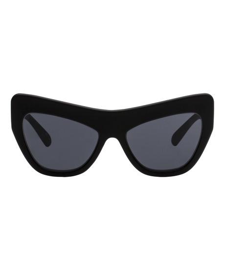 Adam Selman×Le Specs(アダム・セルマン×ル・スペックス)のPlaygirl -Black Rubber / Smoke Mono--BLACK(アイウェア/eyewear)-1502113-13 詳細画像2