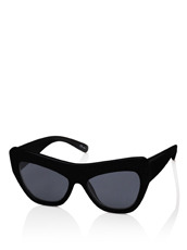 Adam Selman×Le Specs Playgirl -Black Rubber / Smoke Mono-