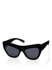 Adam Selman×Le Specs(アダム・セルマン×ル・スペックス) Playgirl -Black Rubber / Smoke Mono-