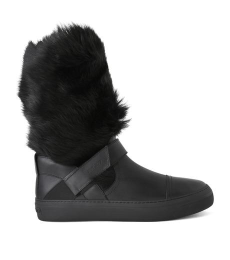 Jimmy Choo(ジミーチュウ)のFur Boots-BLACK(ブーツ/boots)-152BARRY-LWF-13 詳細画像1